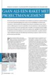 Gaan als een raket met projectmanagement